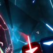 VTuber「虹河ラキ」ちゃん、話題のVRリズムゲーム「Beat Saber」をプレイ!