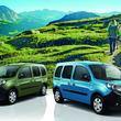 ヴァカンスで人気のフレンチアルプスの山と空がボディカラーに/限定車 ルノー カングー クルール発売