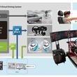 制御開発のAZAPAとアイロック、MBD開発向け-VRドライビングミュレーターを共同開発