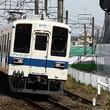 ファミマ色の東武野田線、車両は私鉄103系やアーバンなA-train