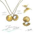 ファッションジュエリーブランド「Tiam Tiam(ティアム ティアム)」から、人気投票によるデザインの新作ネックレス6月15日発売