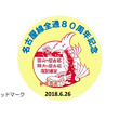 近鉄名古屋線全通80周年記念 入場券 記念グッズ 発売