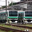 常磐線電車の隠れ家、松戸車両センター【写真】