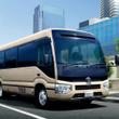 【新車】トヨタのマイクロバス「コースター」に先進安全機能を標準装備