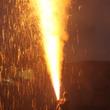 勇壮なる炎の舞!豊橋発祥の「三河伝統手筒花火」をららぽーと豊洲で放揚