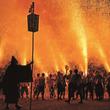 350年を受け継いだ「新居諏訪神社奉納煙火祭礼」開催