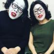 野生爆弾・くっきー、柴田理恵と白塗り初共演に感激  「柴田理恵を超えた」の声も