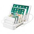 USB充電器を収納して充電スタンドとして使える、タブレット・スマートフォンスタンドを発売。
