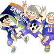 ズッコケ三人組がサンフレッチェ広島のサポーターに就任決定!