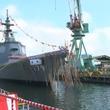 新ミサイル護衛艦「まや」と命名 海上自衛隊7隻目のイージス艦