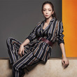 安室奈美恵 × H&Mコラボ第2弾始動、モードでグラマーな秋ファッションをまとう