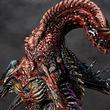クトゥルフ神話の這い寄る混沌「ニャルラトホテプ」がスタチューになって顕現!グロテスクな造形、宇宙的恐怖(コズミック・ホラー)を強調する彩色に注目