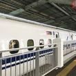 大開口タイプのホームドア、山陽新幹線・新神戸駅2番のりばに設置 JR西日本