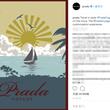 プラダ公式Instagramアカウントに旭日旗? 韓国ネットユーザーが不買運動