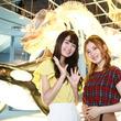 #アルイテラブル SKE48の北川綾巴と中野愛理が名古屋港水族館で癒やされる♡