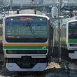 首都圏を貫くJR列車、セミクロス席車の位置をチェック
