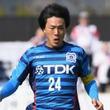 J3秋田、主将DF山田尚幸が右足腓骨骨折で離脱…今季J3で18試合出場
