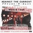 クリッシー率いるアゲインスト・ザ・カレント、一夜限りの東京公演の開催を発表