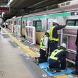 全駅導入に向け「加速」 東急田園都市線のホームドア設置工事に密着