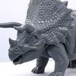 自由研究をテーマにしたフジミ模型の恐竜シリーズにトリケラトプスが出現!
