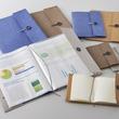 ウォッシャブルクラフトペーパーを採用したファイルカバーとノートカバーの新シリーズ「クラフト」シリーズ発売
