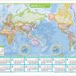 『地図カレンダー世界 2019』『地図カレンダー日本 2019』発売