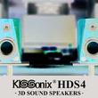 """3Dサウンドスピーカー""""KISSonix HDS4""""が登場&ダンスユニット""""POINT""""とのコラボステージも決定"""
