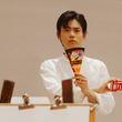 菅田将暉がデッサンモデルに初挑戦、森永製菓WEB動画公開 作品募集企画も