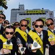 渋谷にタモリさんが大量出現して「ヤバババーン」!モンスト5周年記念キャンペーン開始