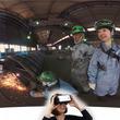 ジョリーグッド、製鉄所の大迫力な仕事体験VRをシンニチロ社と開発! 溶接と設備補修作業を360度で体験できる「シンニチロVR」