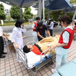 東京医療保健大学 東が丘・立川看護学部 災害医療センター主催の災害訓練にボランティア参加