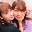 """川栄李奈、AKB48中西智代梨との""""密着""""ショットに反響「不滅の黄金コンビ」"""