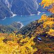 日本一のアーチ式ダム・黒部ダムと日本屈指の立山連峰!富山県立山で紅葉が見頃