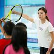 テニスで健康と成長のお手伝いをする「クレセント」  オープンから2ヶ月の宇治校にて体験者数1,000名を達成