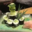 居酒屋で「かっぱ巻き」頼んだら「河童が入ったかっぱ巻き」が出てきた! 「これが本当のカッパ寿司」と話題に