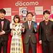 CM出演中の星野源さん、新田真剣佑さん、浜辺美波さんがドコモ新端末にコメント