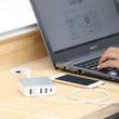 5台の機器を同時高速充電。コンパクトな5個口USB充電アダプタを新発売