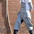 【「合体変形」エプロン】男ゴコロをくすぐる新展開・ショートタイプのワークエプロンがロング丈に変わる「ボトムスカバー」新登場