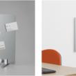 ピンやテープを使わず、静電気の力で紙を吸着する掲示板に新たな2タイプが登場!電子吸着ボード「ラッケージ」RK30・RK6040FL 発売~