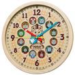 きかんしゃトーマスとなかまたちが大集合! 楽しく時計の読み方を覚えられる大型掛時計が登場