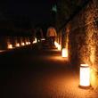知覧町の秋の風物詩・鹿児島県南九州市で「南九州市あかりの道標」開催