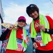 初マラソンで完走!シンガーソングライターの奥華子が岡山で初のフルマラソンに参加!
