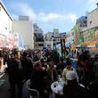 山梨県甲府市で街を活気づける「甲府えびす講祭り」開催