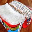 おむつ袋は真ん中から開けると保存も取り出しもめっちゃ便利だった!