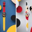 印象的なミッキーマウスの腕時計!スウォッチ ディズニーデザイン「アート・スペシャルモデル」