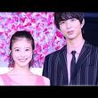 動画:今田美桜、美背中見せドレスで魅了 「花晴れ」一茶とクリスマスツリー点灯式