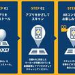 拡張現実で新聞の情報を広げるアプリ「日経AR」