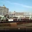 土曜日午後の東京レールセンター、越中島貨物駅【動画】