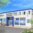 全国にコインランドリーを店舗展開する株式会社ジーアイビーが東京都東久留米市に全国62店舗目となる 『ブルースカイランドリーアクロスプラザ東久留店』 を2018年12月14日にオープン。