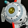 名作SFアニメ『キャプテンフューチャー』の宇宙船・コメット号がH.L.Proのメタルテックシリーズに登場!
